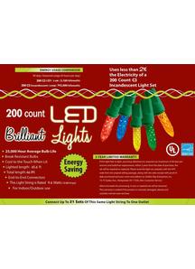 Holiday Lights 200 L C 3 Multi
