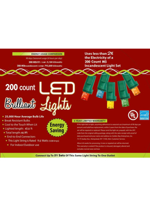 Holiday Lights 200 L M5 Multi