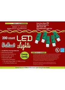 Holiday Lights 200 L M5 Pure White