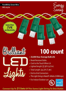 Holiday Lights M 5 Pure White