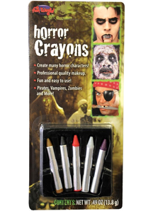 Horror Crayons Make Up