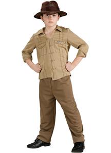 Indiana Jones Costume For Children