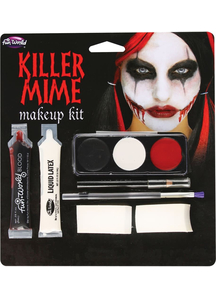 Killer Mime Make Up Kit