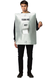Lightswitch Adult Costume