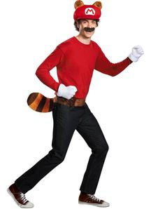 Mario Raccoon Kit For Adults