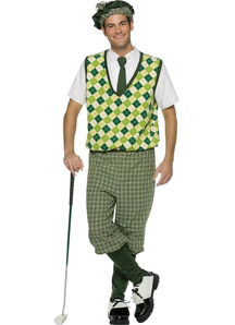 Old Fashion Golfer Adult Costume