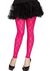 Pink Leggings 80S