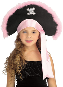 Pink Pirate Hat Child