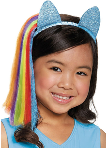 Rainbow Dash Ears For Children
