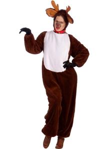 Reindeer Christmas Adult Costume