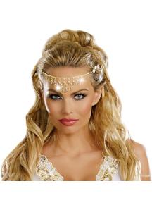 Rhinestone Gold Headpiece