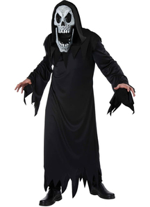 Scary Reaper Face Adult Costume