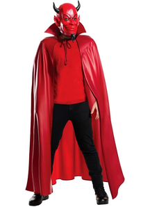 Scream Queen Mask And Cape For Adults