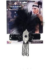 Sequin Flapper Headband
