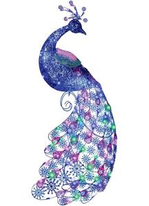 Sparkle Peacock