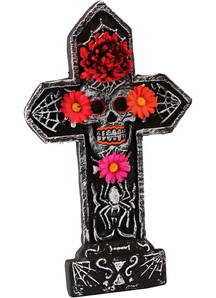 Spider Theme Tombstone For Day Of The Dead