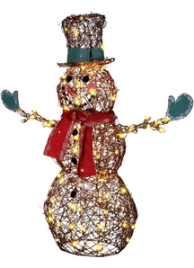 Starry Night Snowman