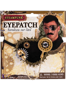 Steampunk Eyepatch For Adults