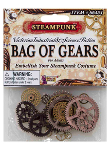 Steampunk Style Bag Of Gears