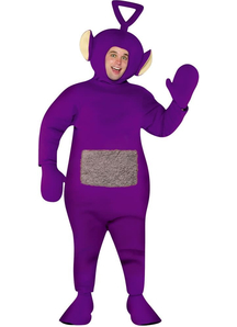 Teletubbies Tinky Winky Costume For Adults