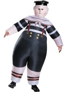 Tweedledum And Tweedledee Inflatable Costume For Adults