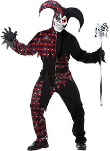 Angry Jester Costume for Adults