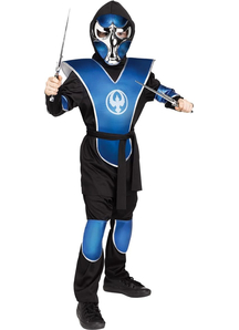 Aven Ninja Blue Child Costume