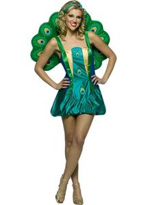 Beautiful Peacock Adult Costume