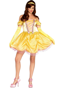 Beauty and the Beast Enchanting Princess Adult Costume