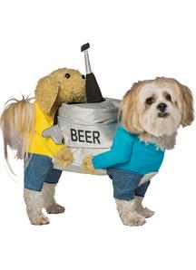 Beer Keg Dog Costume