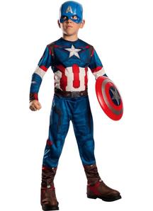 Captain America Costume For Children