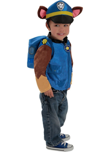 Chase Costume For Children From Paw Patrol