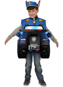 Chase Deluxe Costume For Children From Paw Patrol