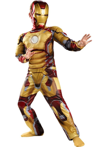 Child Iron Man Mark 42 Costume