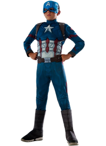 Civil War. Captain America Costume For Children