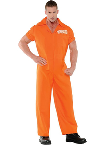 Convicted Men Adult Costume