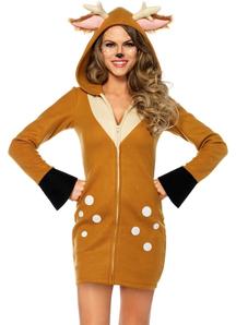 Cozy Deer Adult Costume