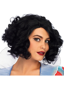 Curly Snow White Adult Wig