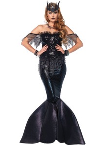 Dark Mermaid Adult Costume