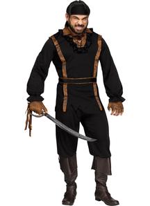 Dark Pirate Adult Costume