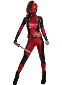 Deadpool Woman Costume