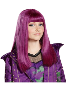 Descendants 2 Mal Wig Child