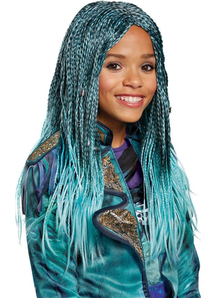 Descendants 2 Uma Wig Child