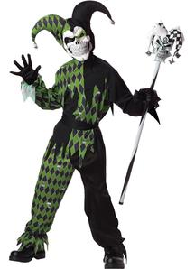 Evil Joker Child Costume