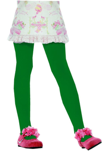 Green Tights Child Sm