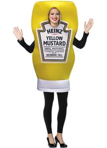 Heinz Bottle Mustard Adult Costume