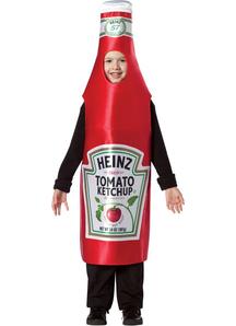 Heinz Ketchup Child Costume
