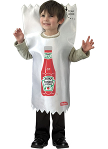 Heinz Ketchup Packet Toddler Costume