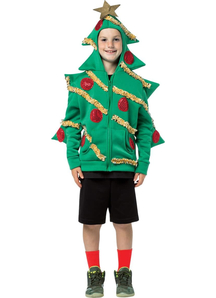 Hoodie Christmas Tree Child