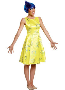 Joy Adult Costume From Inside Out Movie